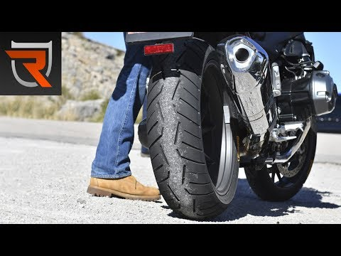 Continental ContiRoad Attack 3 Motorcycle Tires Review Video | Riders Domain