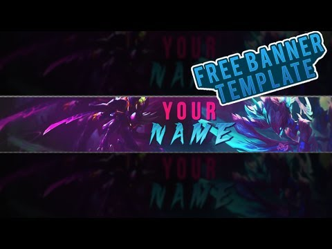 FREE Youtube Banner Template KhaZix By Jasm - YouTube