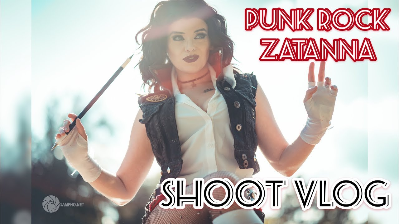 Zantanna Paralla: Skittlez Photo Shoot with Zantanna