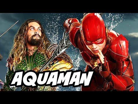 Justice League Aquaman Test Footage Breakdown