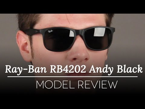 black lens ray bans ysv6  Ray-Ban RB4202 Andy Black Sunglasses Review
