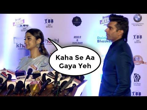 Jennifer Winget Ignore Ex Husband Karan Singh Grover At Dadasaheb Phalke Awards 2018