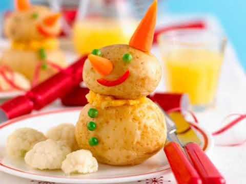The Most Easy Food Decoration Ideas افكار سهلة و بسيطة لتزيين الاطباق خصوصأ للأطفال