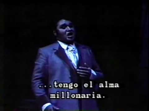 Ramón Vargas - Che gelida manina 1991 (La Bohème Debut)