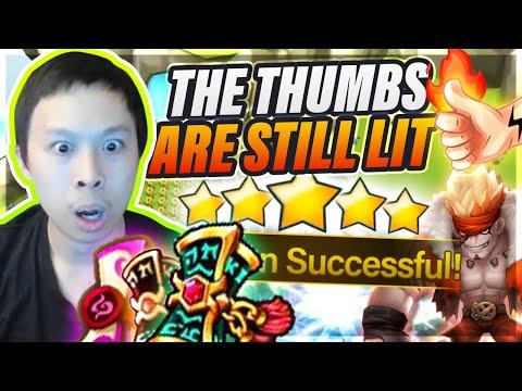 Island Luck Is Still OP?! Magic Thumb Testing! - Did I Quit Summoners War?!