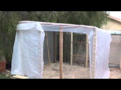 DIY Backyard Greenhouse YouTube - Backyard greenhouse ideas