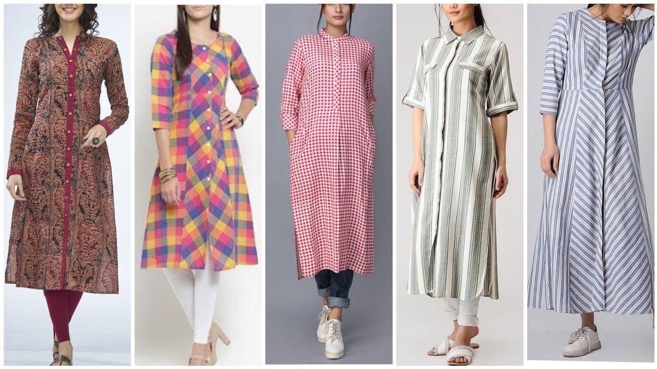 Top Class 32 Latest Casual Cotton Open Shirts,Kurti Designs 2020