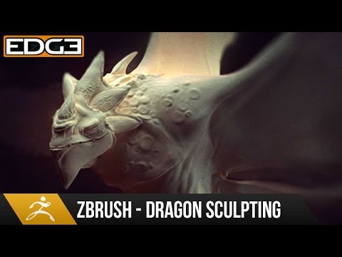 Zbrush Sculpting Tutorial - Dragon Design and Sculpting Tech