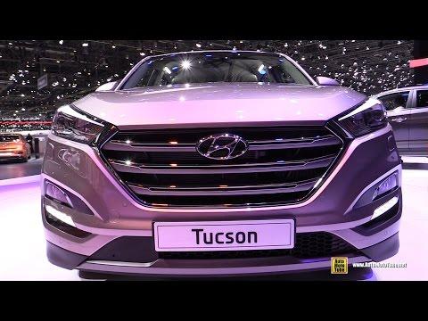 2016 Hyundai Tucson Exterior and Interior Walkaround 2015 Geneva Motor Show