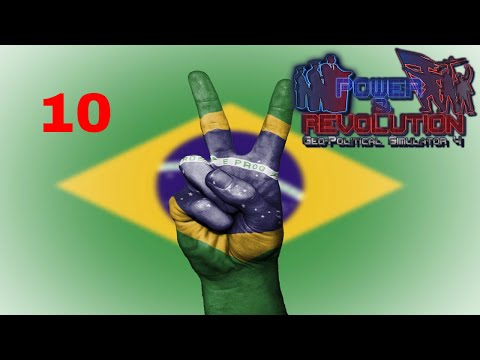 Power and Revolution (Geopolitical Simulator 4) Brazil Part 10 Conquering Argentina
