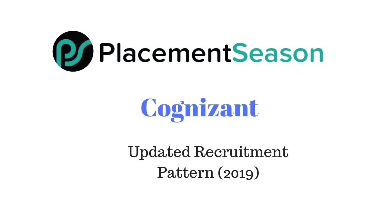 Placement answers with pdf papers cognizant