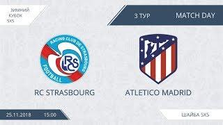 RC Strasbourg 6:6 Atletico Madrid, 3 тур