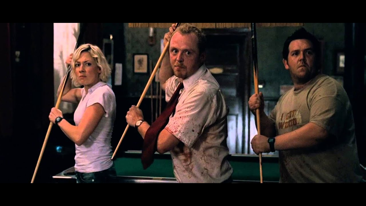 maxresdefault shaun of the dead don't stop me now youtube Shaun of the Dead Meme at soozxer.org