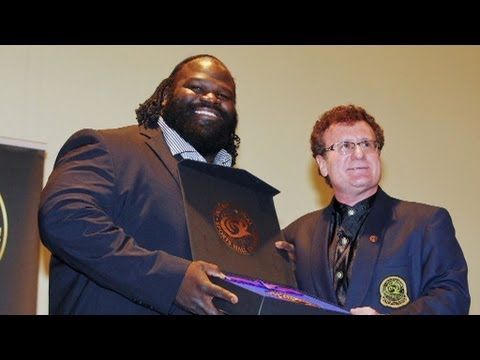 Mark Henry is inducted into the International Sports Hall of Fame
