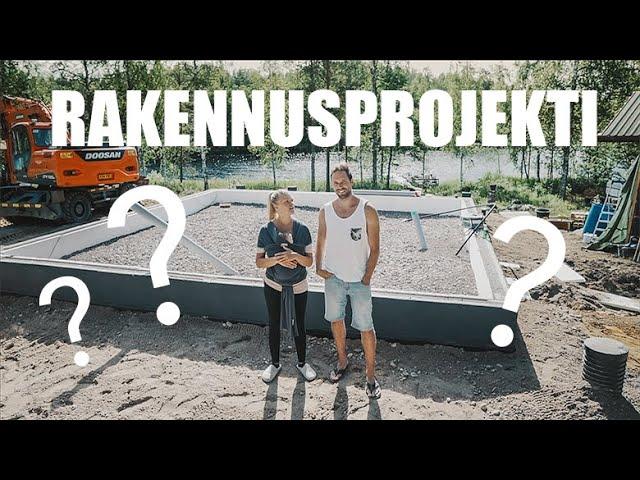 RAKENNUSPROJEKTI ALKAA! | MAATILAVLOGI | FINNISH HOMESTEAD - Anniina Jalkanen
