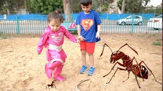 سوبر سمعة والنمل - Super somaa and the ants