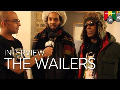 Interview with The Wailers, Leicester UK March 2018