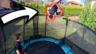 INSANE 11 YEAR OLD TRAMPOLINE TRICKS!