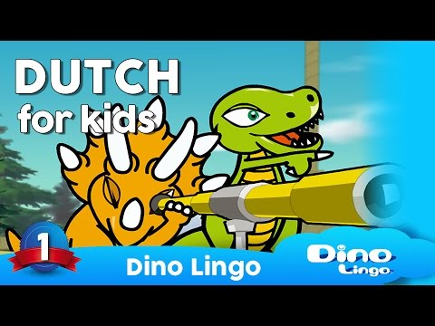 Dutch for kids DVD set - Dutch lessons for children - Nederlands - animals: dieren