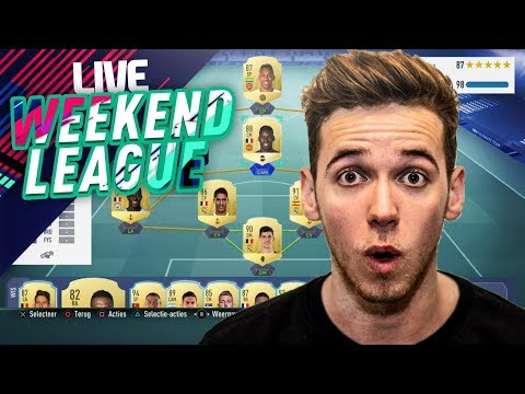 WEEKEND LEAGUE LIVESTREAM #3 - FIFA 19