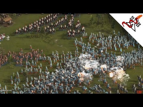 Cossacks 3 - 4P EXPERTS ONLY | Multiplayer Gameplay