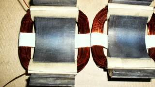 видео Статор генератора, проверка и ремонт статора генератора своими руками, инструкция по перемотке статора. Как проверить и перемотать статор генератора. Самостоятельная проверка и ремонт статора генератора. Признаки и причины неисправностей.