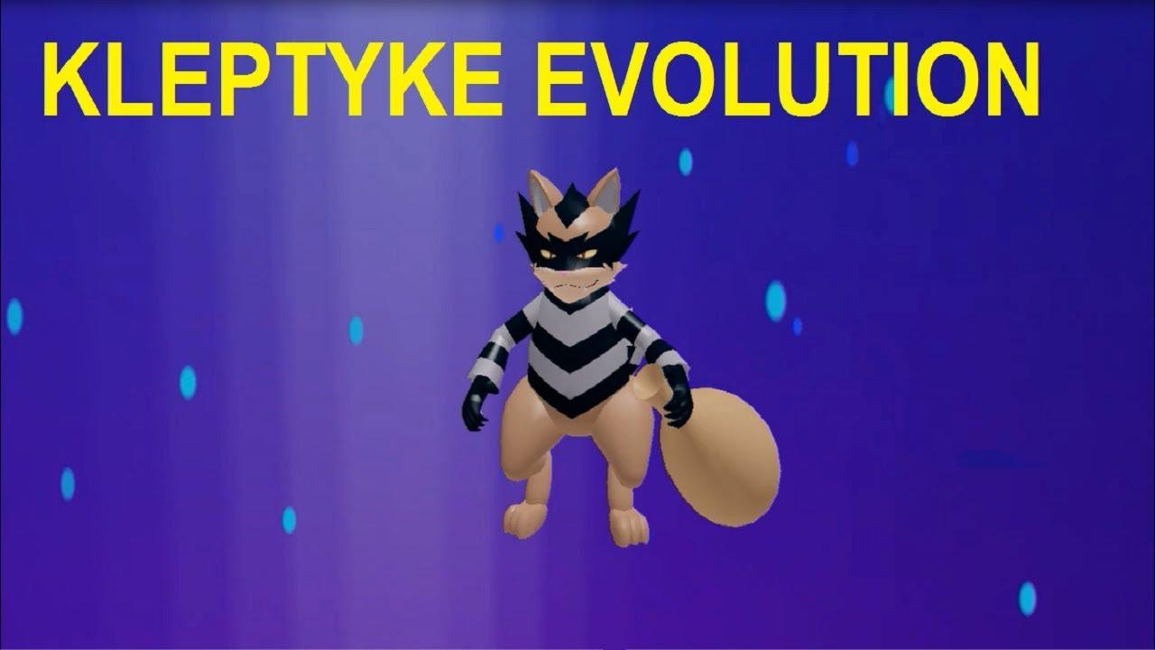 Kleptyke Evolves Into A Ragoon Loomian Legacy Roblox Youtube