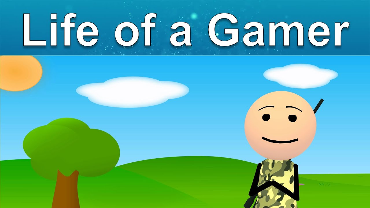 A Gamer's Life with Climax/Ending   Short Comedy Animation shot   MAKwana