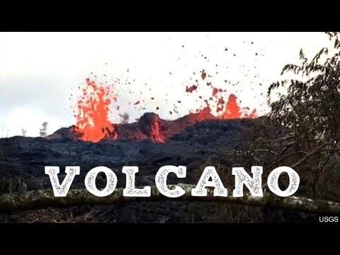 Hawaii's Kilauea volcano has erupted May 17th 2018