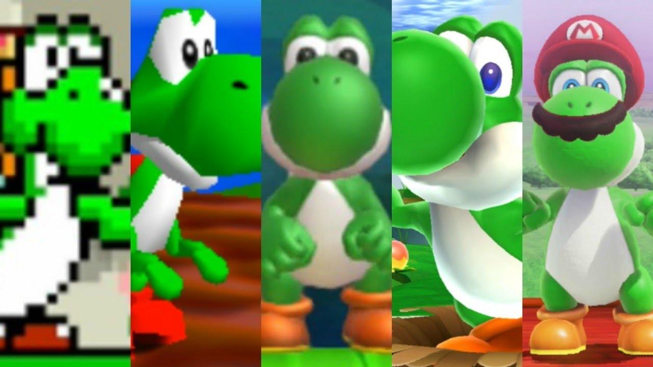 Evolution of Yoshi in Super Mario Games - YouTube | 1280 x 720 jpeg 93kB