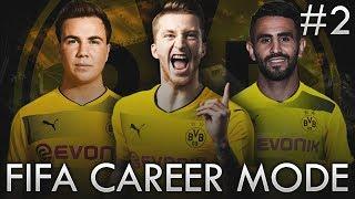 BORUSSIA DORTMUND FIFA CAREER MODE! - NEW ATTACKING TRIO!!! #2