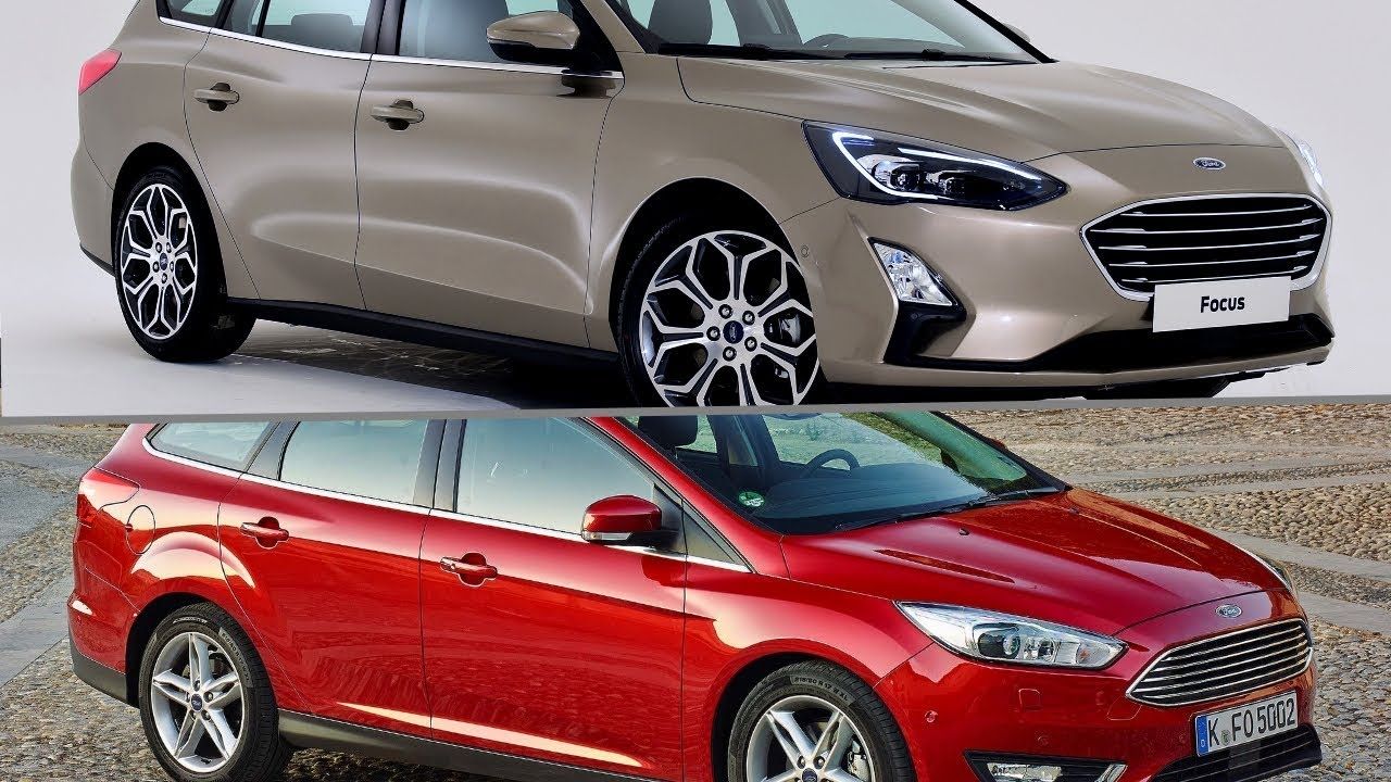 New 2019 Ford Focus Estate Vs Old 2017 Ford Focus Estate