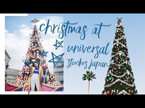 THE MOST MAGICAL CHRISTMAS | UNIVERSAL STUDIOS JAPAN