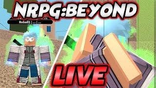 WE GOT SAND MAGNET KEKKEI GENKAI Naruto RPG: Beyond!! | Roblox Live Stream #114