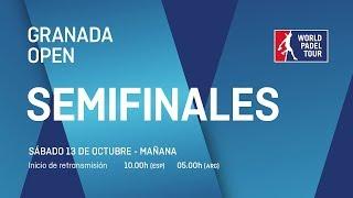 Semifinales - Mañana - Granada Open 2018 - World Padel Tour