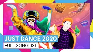 JUST DANCE 2020 - FULL SONGLIST [OFFICIAL]