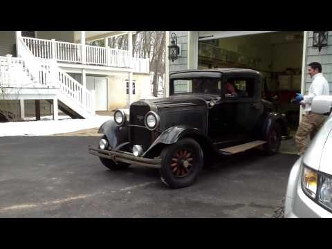 1930 Dodge DC8 - first run in 20+ years