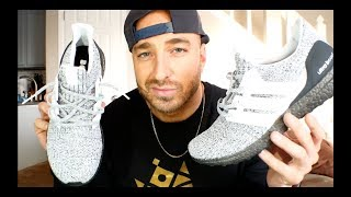 The best Ultra Boost of 2018 so far?? Adidas Ultra Boost 4.0 Cookies and Cream Review & On Feet!!