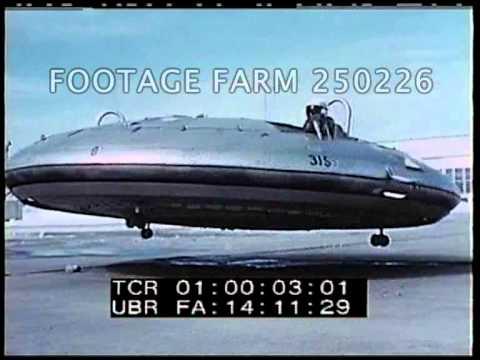 1959 Avrocar Testing Pt2/2  250226-06 | Footage Farm