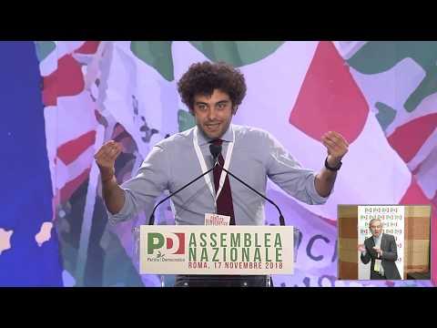 Assemblea PD: l'intervento di Dario Corallo