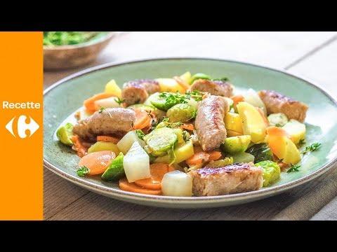 ragout-de-légumes-et-saucisse