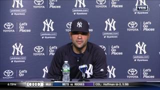 Jaime Garcia addresses media for first time as a Yankee