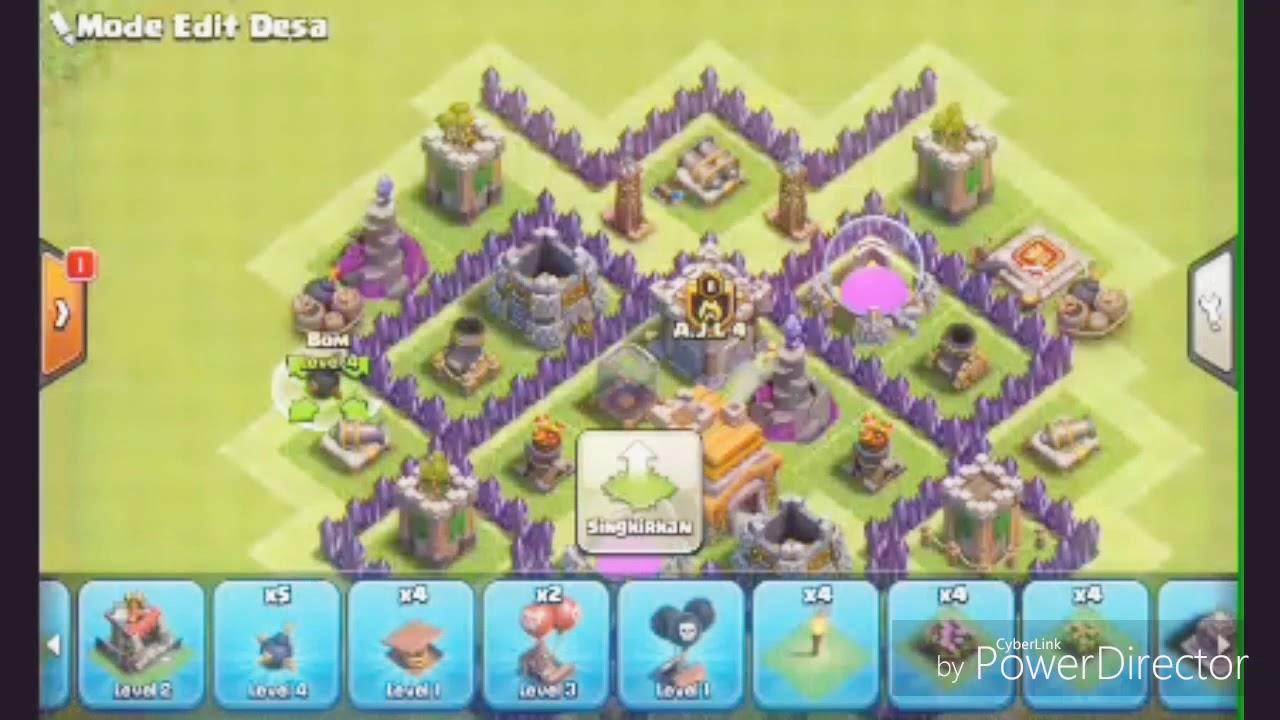 Gambar Base Coc Th 7 Terkuat Di Dunia 1
