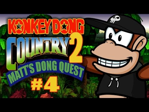 Konkey Dong Country 2: Matt's Dong Quest (Part 4)