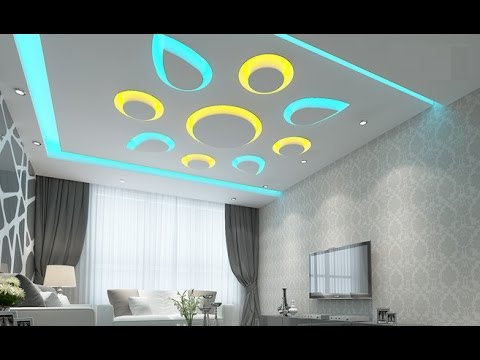 Latest pop ceiling designs and pop design for walls youtube for P o p bedroom designs