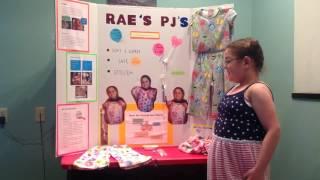 Rae's PJ's - Invention Convention 2016 - Rachel Farfsing