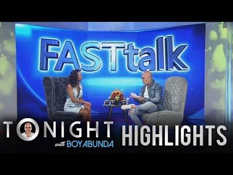 TWBA: Fast Talk with Wilma Doesnt