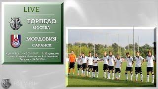 Torpedo Moscow vs Mordovia Saransk full match