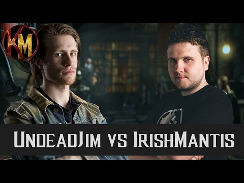 MKXL - ED UndeadJim (Cybernetic) vs IrishMantis (A-List) - Commentated FT10