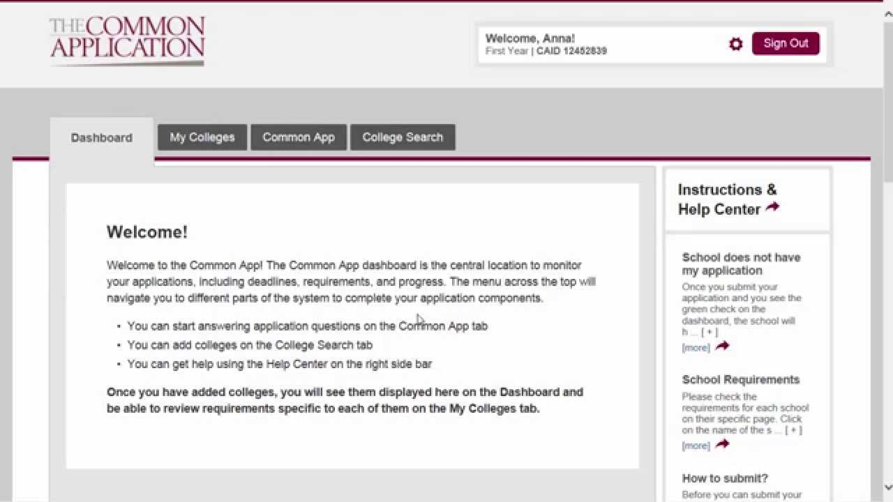common application The registrar's office assists uo students who wish to send a common application to participating institutions outside of the uo the common application asks for certification from the.
